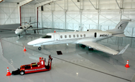 hangar with new aircraft for sale